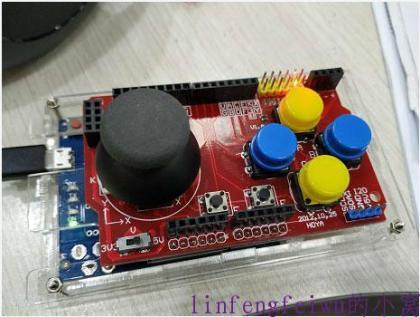 利用arduino leonardo打造游戏手柄